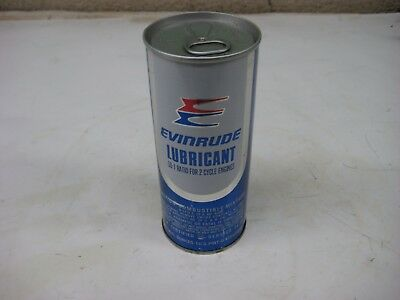 Vintage Gas & Oil 1 Pint Evinrude 50:1 Snowmobile 2 Cycle Motor Oil Can