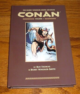 Conan Archives Volume 1 VERY GOOD Barry Windsor-Smith, Marvel, Dark Horse Comics