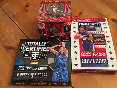 Panini NBA Trading cards Box, Autograph, Auto, Jersey Lot Durant Towns Prizm RC