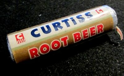 Vintage Old 1950's 1960's 7/8 in. Unopened Roll Candy Curtiss ROOT BEER