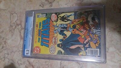 The New Teen Titans #2 CGC 9.2 1st Appearance of Deathstroke the Terminator