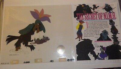 3 Layer  Secret of NIMH 1982  Production Animation cell  COA #13426