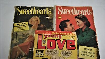 Romance Comics Sweethearts Golden/Silver Lot 21 Books