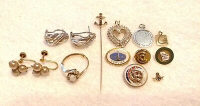 10k 417 Solid Yellow & White Gold Scrap or Not Jewelry Lot 27 Grams Acid Tested