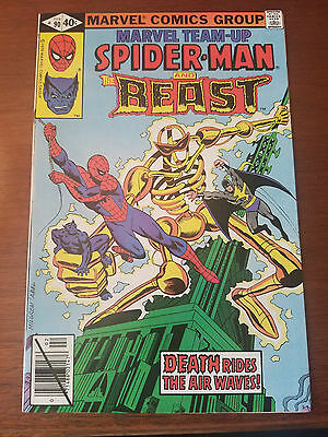Marvel Team-Up #90 Spidey and The Beast! Solid Very Fine Condition!