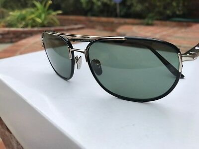 Leisure Society Sunglasses - Sandon - Black/Silver
