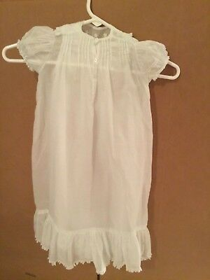 Vintage Baby Baptism Christening Gown Hand Made
