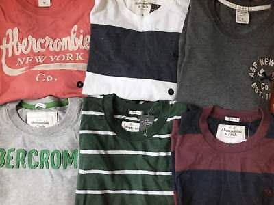 NWT Abercrombie & Fitch Mens Longsleeve T Shirt Crew Neck