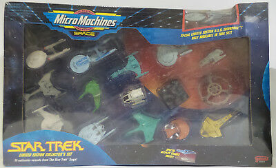 Star Trek : Set Of 16 Micromachines. Limited Edition Collectors Set