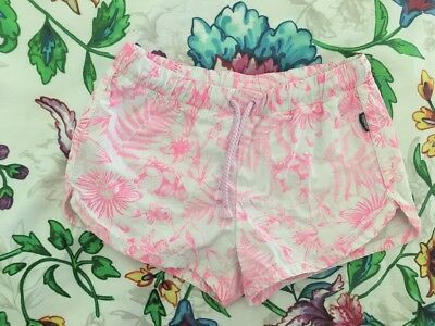 Girls Bonds Shorts Size 5 (pink / White)