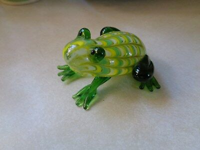 Glass Frog Colorfull Green by FF Made in China
