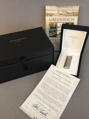 Very Rare Dunhill Gmt Lighter 0249/1884 Limited Edition Box Set With Book Nr