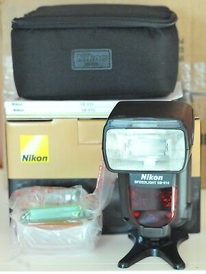 Nikon Speedlight SB-910 AF Shoe Mount Flash for  Nikon Mint in Box