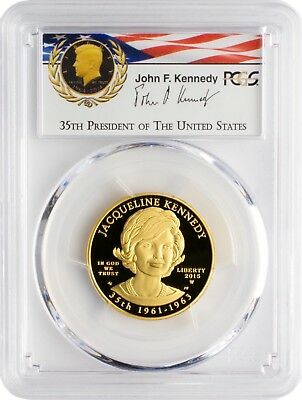 2015-W $10 Jacqueline Kennedy PCGS PR69DCAM First Strike Camelot Collection