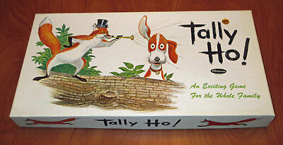 TALLY HO!, 1961 Whitman, fox and hounds, old store stock, unused, rare