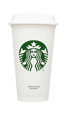 Starbucks Reusable Cup To Go Travel Coffee Tumblers with lids 16 Oz (Pack of 6)