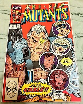 New Mutants 87 VF/NM Cable Deadpool 2 X-Force Liefeld McFarlane Nathan Summers