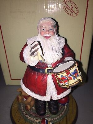 "Norman Rockwell Seasons Of Joy 1996 ""A Drum For Tommy""Santa New 75th Anniversary"