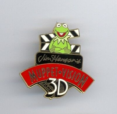 Disney MGM Studios Jim Henson's Muppet Vision 3-D Kermit the Frog Attraction Pin