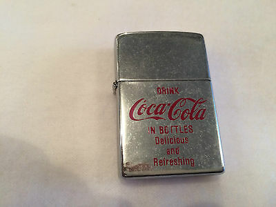 Vintage Coca Cola Sunflower Lighter UNSTRUCK Cigarette Cigar Coke MINT UNUSED
