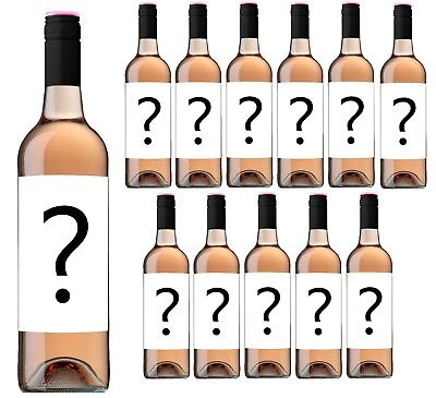 eBay Exclusive Only $54 Delivered Mystery Labelled Rose Wine (12x750ml) RRP $179