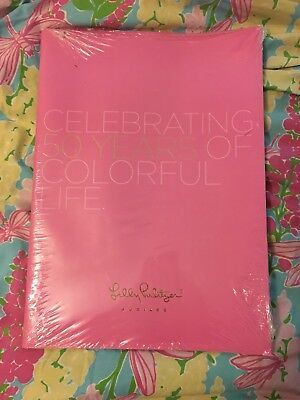 Rare Lilly Pulitzer Celebrating 50 Years Of Colorful Life Anniversary Catalog