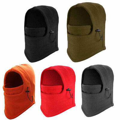 Unisex Winter Fleece Scarf Neck Warmer Face Mask Skiing Cycling Hiking Mask