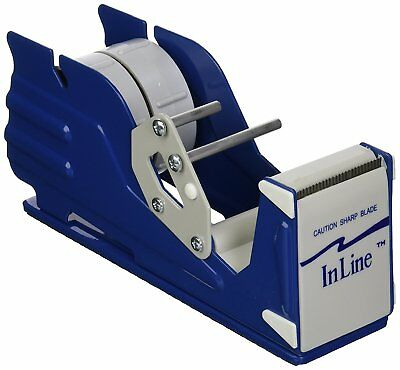 "Inline Commercial Desktop Heavy Duty Tape Dispenser  1"" - 2"" - 3""- or 4"""