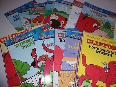 Lot of 14 Clifford the Big Red Dog Leveled Readers Level 1 Books Scholastic