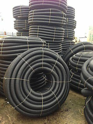 perforated land drainage pipe 100m x 80mm 100mm 150mm & PERFORATED LAND DRAINAGE pipe 100m x 80mm 100mm 150mm - £140.00 ...