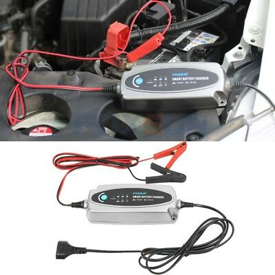 Multi MXS 5.0 12V Waterproof Car Battery Charger Desulfator For Lead Acid af