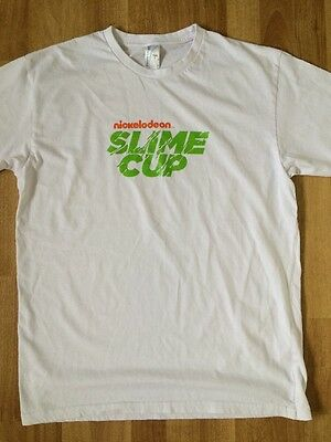 NICKELODEON SLIME CUP CREW T SHIRT Official Size L