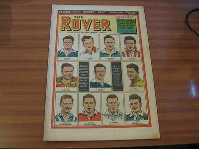 THE ROVER No 1530 OCT 23RD 1954 GOOD CONDITION DC THOMSON VINTAGE BRITISH COMIC