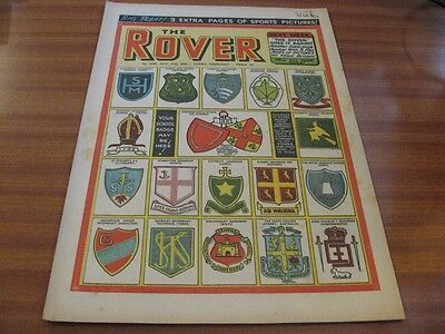 THE ROVER No 1535 NOV 27TH 1954 GOOD CONDITION DC THOMSON VINTAGE BRITISH COMIC