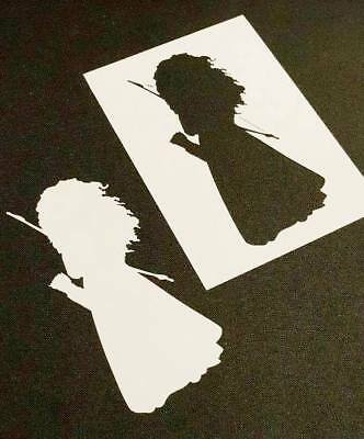 Princess Merida Reusable Stencil Wall Party Cake Cards Paint Decoration Brave