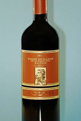 12 Flaschen Colosi, Rosso, I.G.P. 2014 Sizilien 69,00 € (7,67 €/L)