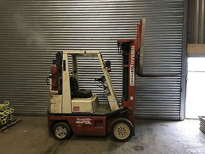 NISSAN Fork Lift Truck 2ton With Side Shift