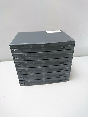6x Cisco 800 881 Router 880 Series Integrated Services C881-SEC-K9 V01