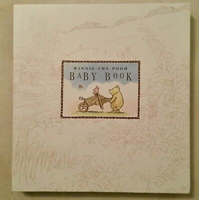 Disney Classic Winnie the Pooh Baby Book in Box by Michel & Co