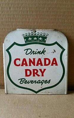 Old Vintage Canada Dry Metal Sign