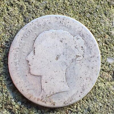 UK / Great Britain Shilling, Bob 1874, Die Number 10, Victoria - Silver