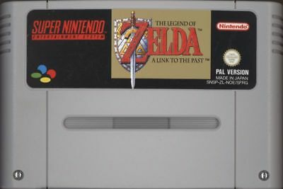 THE LEGEND OF ZELDA A LINK TO THE PAST for Super Nintendo SNES PAL English