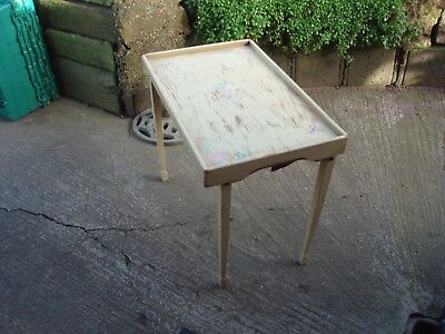 Vintage French Tray Table