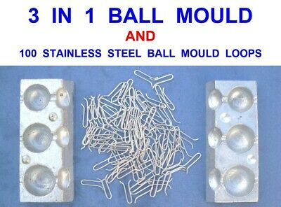 Sea Fishing Quick Drop Boat Lead Mould 16oz /& 200 Loops