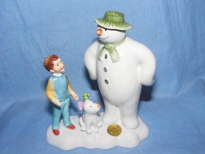 John Beswick The Snowman And The Snowdog Lets Go On An Adventure Raymond Briggs