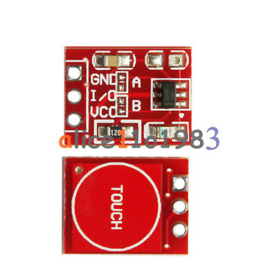 5PCS TTP223 Capacitive Touch Switch Button Self-Lock Module for Arduino