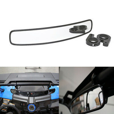 "Universal 1.75"" Clamp UTV 15"" Wide Rear View Race Convex Mirror RZR900 XP1000"
