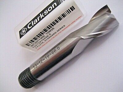 13mm HSS M2 2 FLUTED AUTOLOCK SLOT DRILL MILL 3012011300 EUROPA TOOL CLARKSON 56