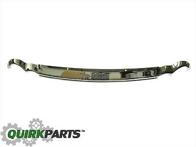 05-10 Jeep Grand Cherokee Front Chrome Air Deflector Oem New Mopar