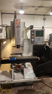 Haas cnc mill milling